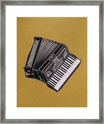 Marilyn's Accordion Framed Print