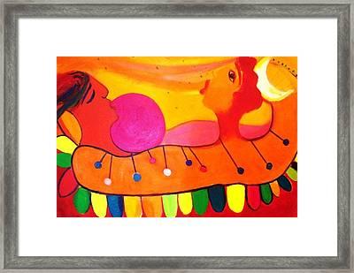 Marimba Framed Print by Jose jackson Guadamuz guadamuz