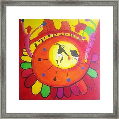 Marimbona Framed Print by Jose jackson Guadamuz guadamuz