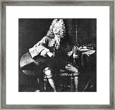 Marin Marais (1656-1728) Framed Print by Granger