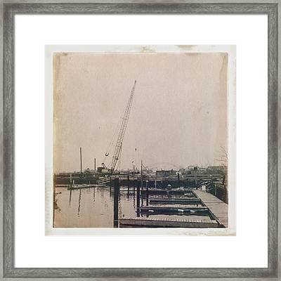 Marina 2 Framed Print by H James Hoff