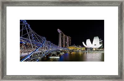 Marina Bay Sands Framed Print by Pete Reynolds