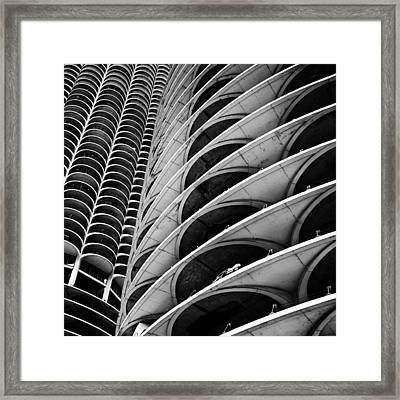 Marina City - Chicago 3 Framed Print
