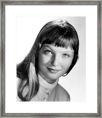 Marina Vlady, Ca. Late 1950s Framed Print by Everett