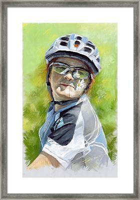 Marina Framed Print by Yuriy Shevchuk