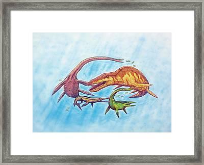 Marine Dinosaurs Framed Print by Deagostini/uig