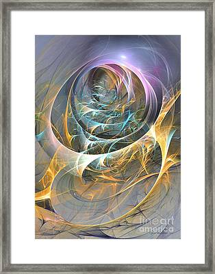Marine Discotheque Framed Print by Sipo Liimatainen