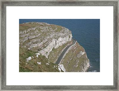 Framed Print featuring the photograph Marine Drive by Christopher Rowlands