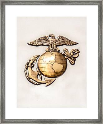 Marine Ega Framed Print