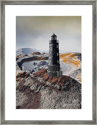 Marine Memory - Surrealism Framed Print by Sipo Liimatainen