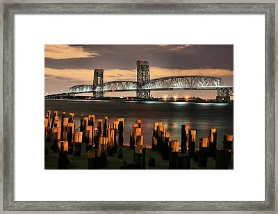 Marine Parkway Bridge Framed Print by JC Findley
