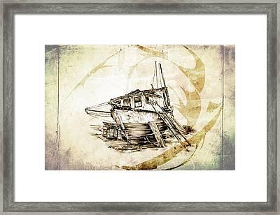Marine Sea 02 Framed Print