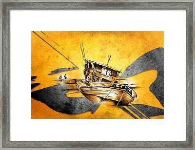 Marine Sea 10 Framed Print
