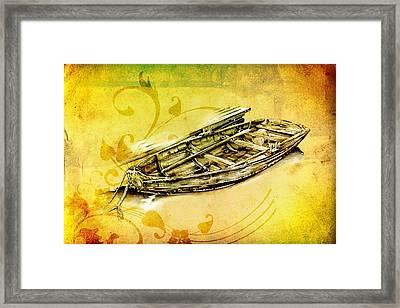 Marine Sea 11 Framed Print