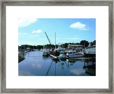 Mariner Harbor Framed Print by Dusty Reed