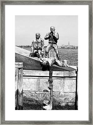 Mariners Memorial Framed Print