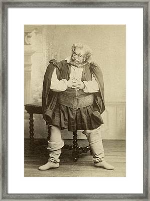 Mario Ancona (1860-1931) Framed Print by Granger