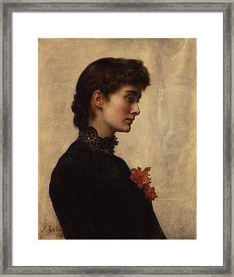 Marion Collier Framed Print by Philip Ralley