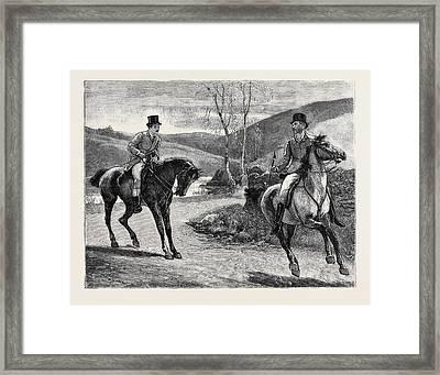 Marion Fay A Novel Mr. Crocker, Said Lord Hampstead Framed Print