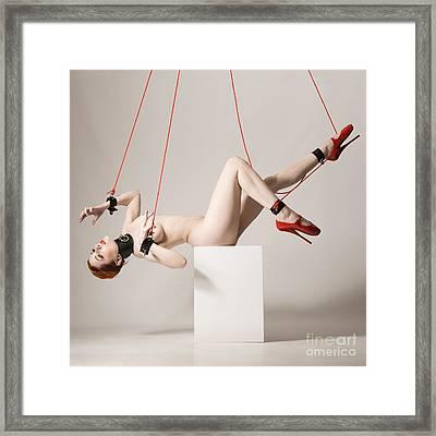 Marionette Vex Framed Print