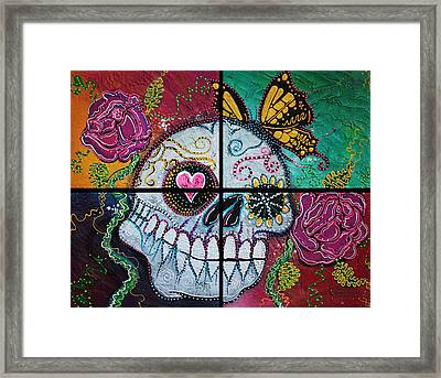 Mariposa - A Spirit Returns Framed Print by Laura Barbosa