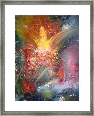 Mariposa Framed Print by Julio Lopez