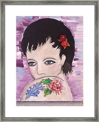 Marissa Framed Print by Karen Carnow