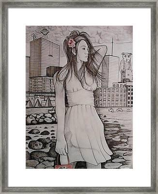 Marissa Framed Print by Richie Montgomery