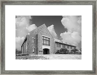 Marist College Cannavino Library Framed Print by University Icons