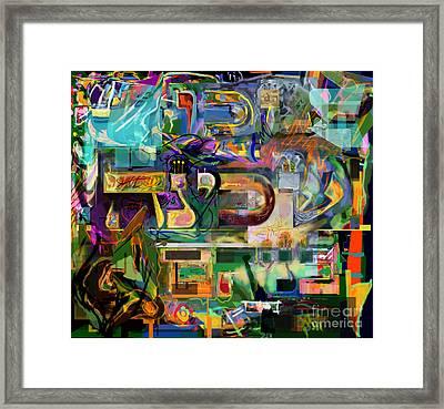 Marital Harmony 54 Framed Print by David Baruch Wolk