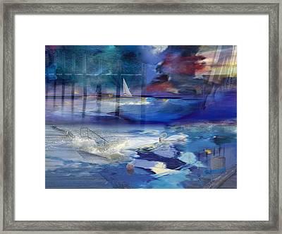 Maritime Fantasy Framed Print by Randi Grace Nilsberg