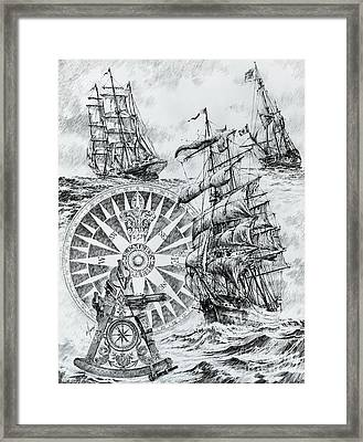 Maritime Heritage Framed Print by James Williamson