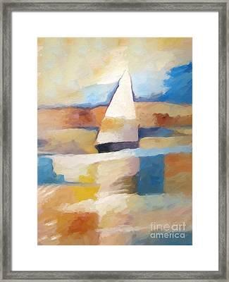 Maritime Impression Framed Print