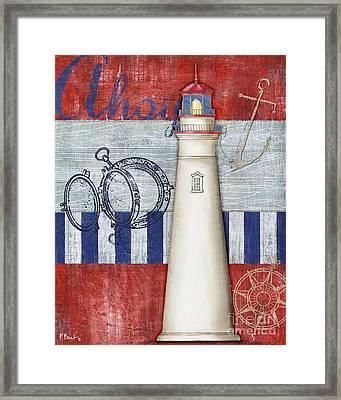 Maritime Lighthouse I Framed Print by Paul Brent