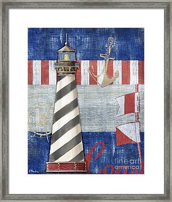 Maritime Lighthouse II Framed Print by Paul Brent
