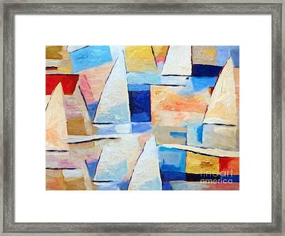 Maritime Regatta Framed Print