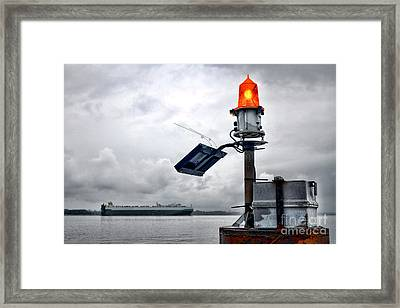 Maritime Safety Framed Print