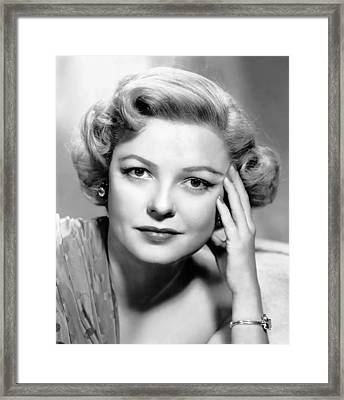 Marjorie Reynolds, Ca. Early 1950s Framed Print