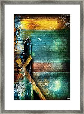Mark 1 Framed Print by Switchvues Design