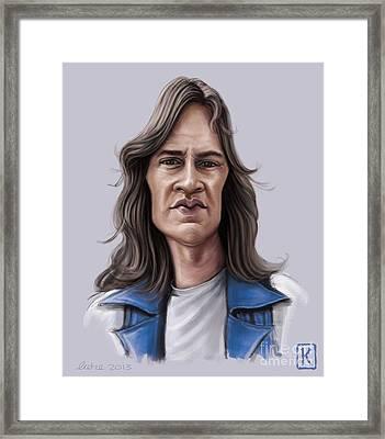 Mark Evans Framed Print by Andre Koekemoer