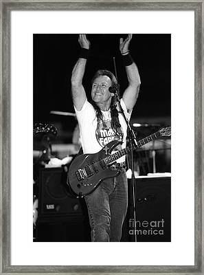 Mark Farner Framed Print by Concert Photos