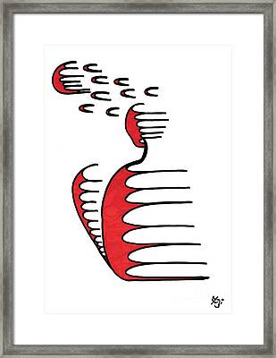 Mark Framed Print