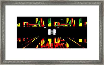 Mark It Zero Framed Print by Benjamin Yeager
