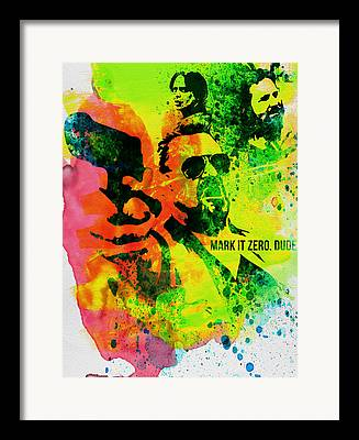 Walter Sobchak Framed Prints