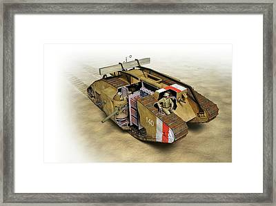 Mark Iv Tank Framed Print by Jose Antonio Pe�as