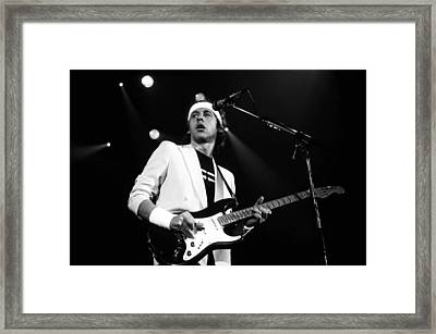 Mark Knopfler  Framed Print