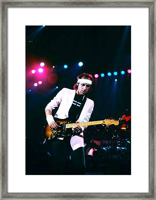 Mark Knopfler I Framed Print