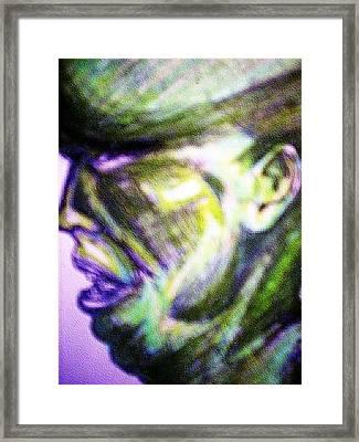 Mark Lopez Framed Print by HollyWood Creation By linda zanini