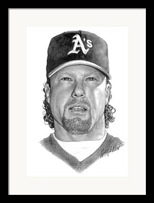 Mark Mcgwire Framed Prints