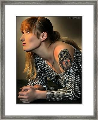 Mark Of The Medusa Framed Print